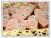 biscotti cuori-decorati-con-fiori-dettaglio-romantico