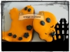 orange-cratures halloween cookies