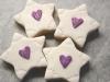 stelle biscotti decorati