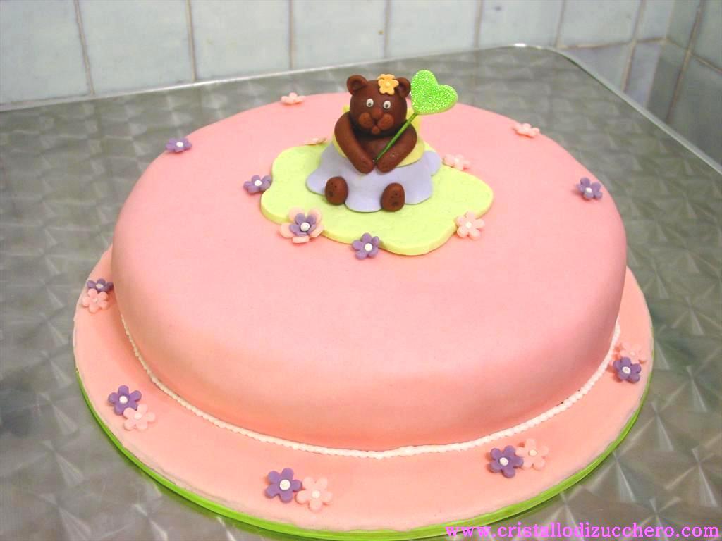 Foto di torte e biscotti decorati con pasta di zucchero e - Decorazioni torte con glassa ...