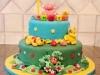 torta decorata con animali