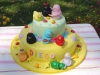 torta decorata barbapapa cake