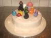 torta barbapapa-natalizio cake