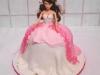 torta barbie-e-vestiti