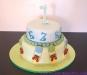 torta decorata mongolfiere