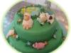 torta decorata fattoria