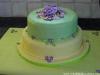 torta deocrata con fiori