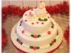 torta decorata pecorella-natalizia-