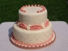 pink vintage cake