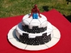 torta decorata spiderman cake