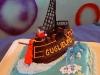 torta barca dei pirati