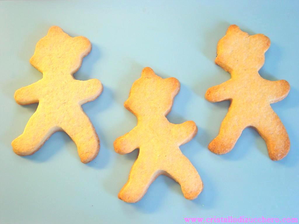 biscotti orsetti