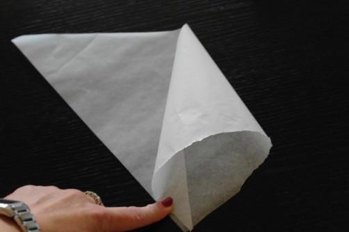 Sac a poche usa e getta: impara a fare da sola il tuo conetto di carta