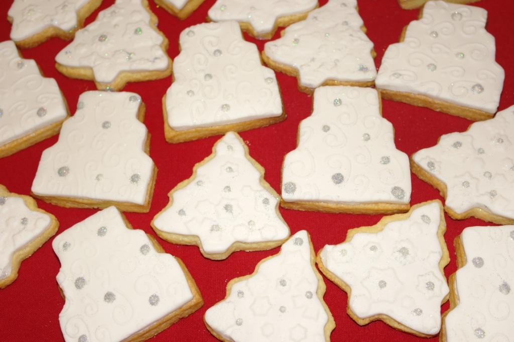 Segnaposto Natalizi Pasta Di Zucchero.Segnaposto Natalizi